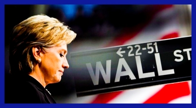 hillary clinton and wall street